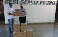 Fiemg doa mais 5 mil máscaras a hospitais e entidades do Vale do Aço
