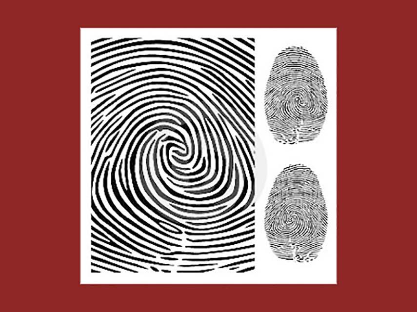 Anatomia de um crime: a história da impressão digital