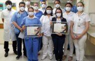 HMC recebe certificação nacional em eficiência das UTI's