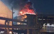 Acidente na Usiminas: não houve explosão
