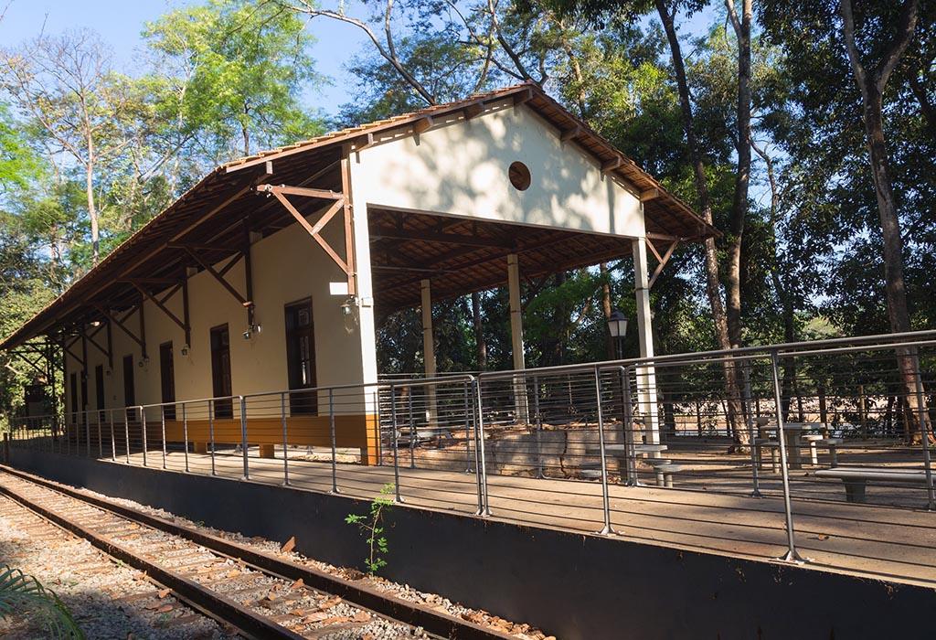 Estação Pedra Mole, em Ipatinga, reabre para visita do público