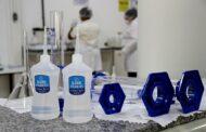 Unileste produz álcool 70% em parceria com a Secretaria de Saúde de Fabriciano