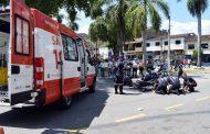 Equipes do Samu de Timóteo simulam socorro a vítimas