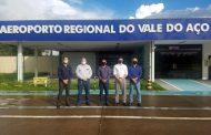Lideranças cobram retomada do Aeroporto Regional do Vale do Aço