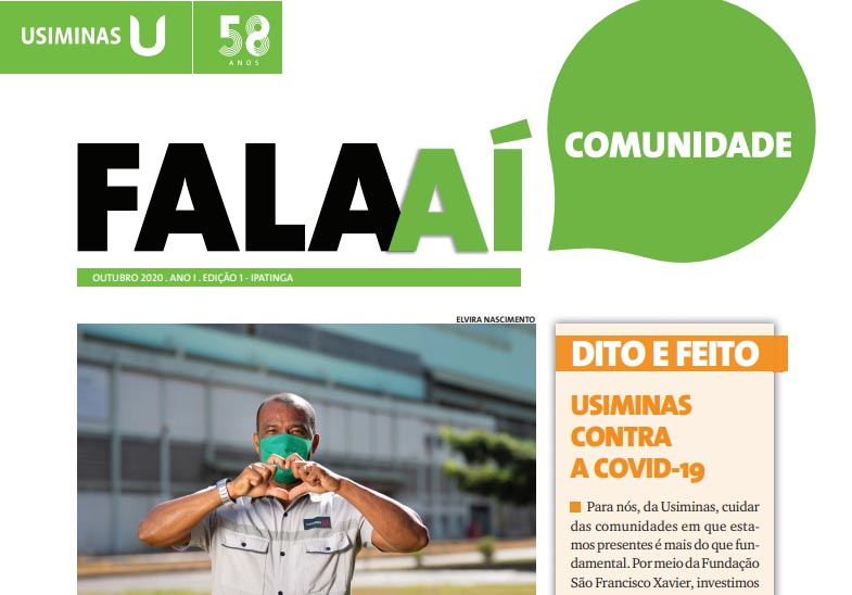 Usiminas lança informativo impresso para a comunidade