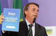 """Em tom conciliador, Bolsonaro destaca luta pelo """"bem comum"""""""