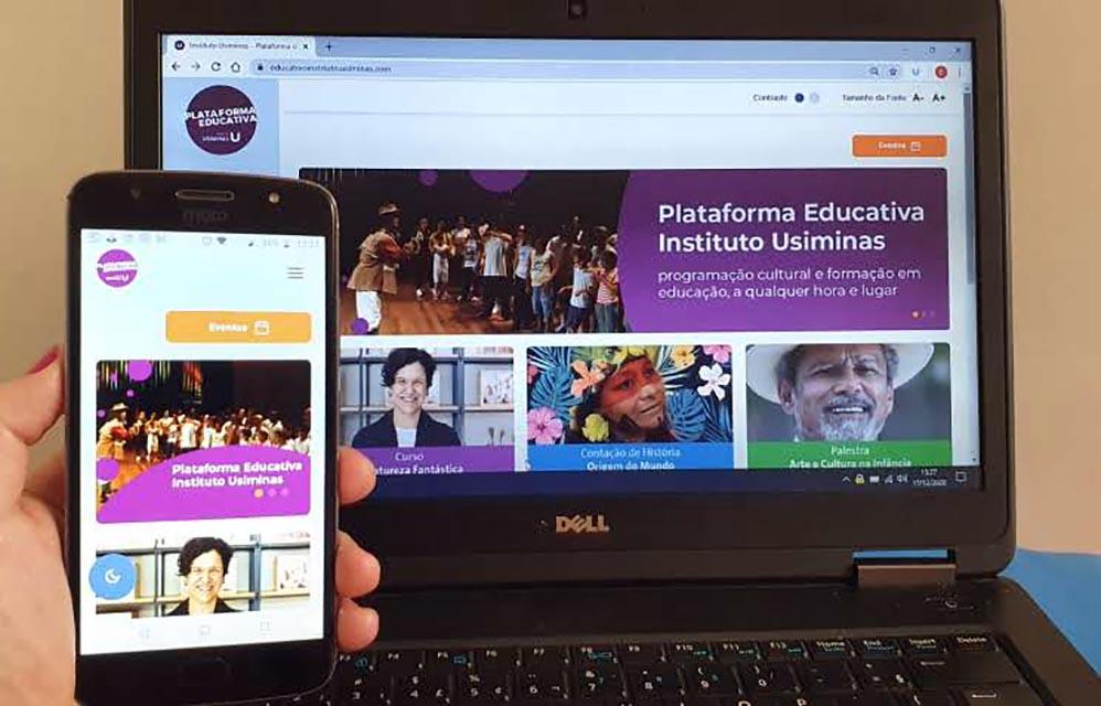 Instituto Usiminas mantém atividades à distância