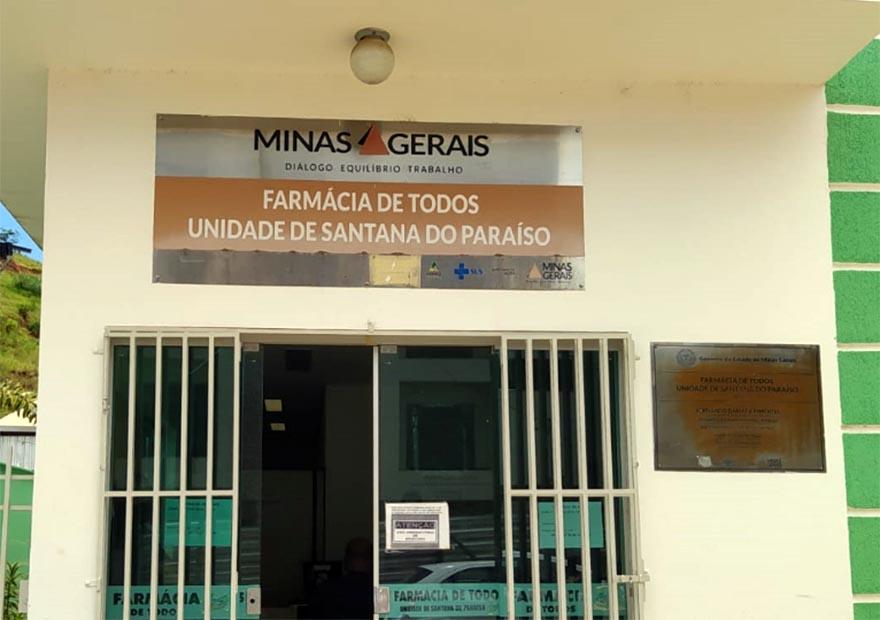 Distribuição de medicamentos é regularizada em Santana do Paraíso