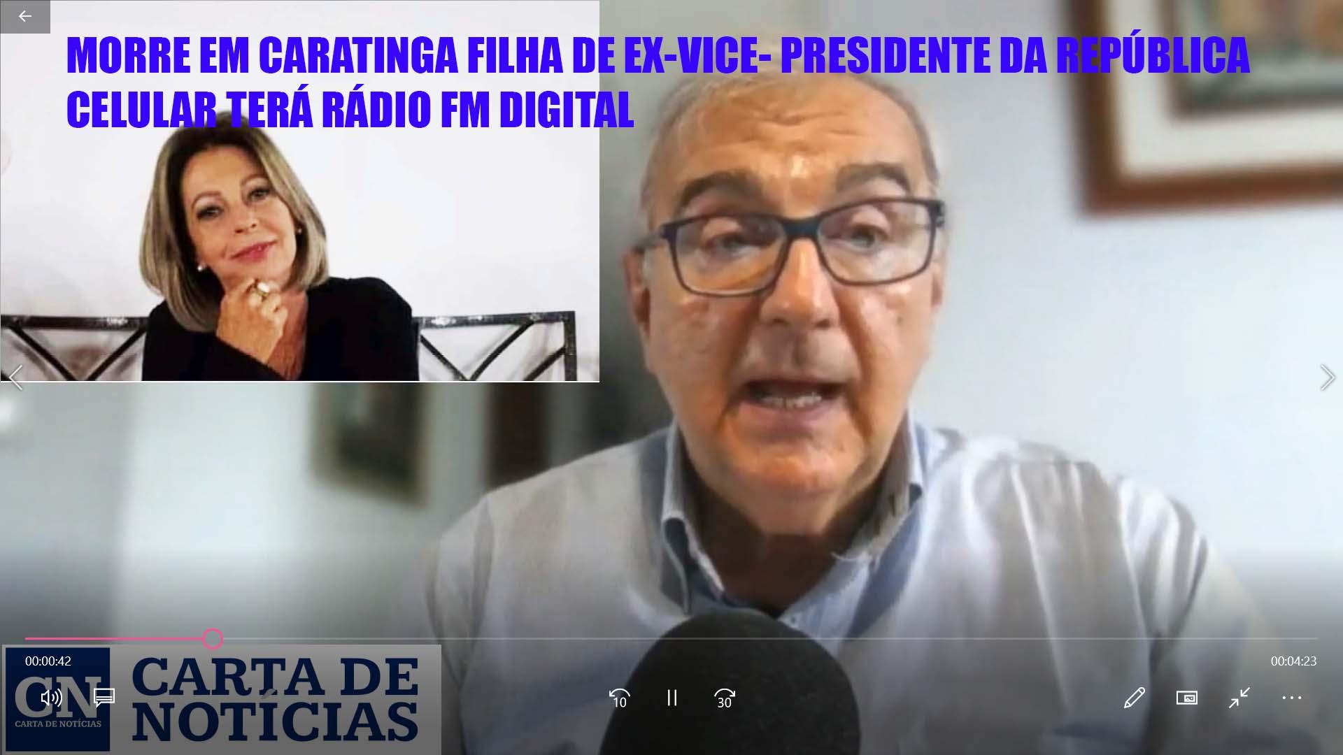 Morre em Caratinga filha de ex-vice-presidente da República