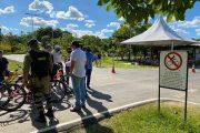 Sescon realiza blitz educativa no Parque Ipanema em Ipatinga