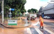 Chuva forte na madrugada desta terça-feira causa estragos em Ipatinga