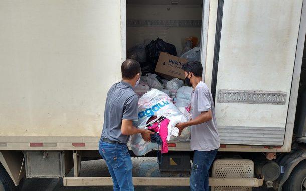 Aciapi e CDL de Ipatinga encaminham doações para Santa Maria de Itabira