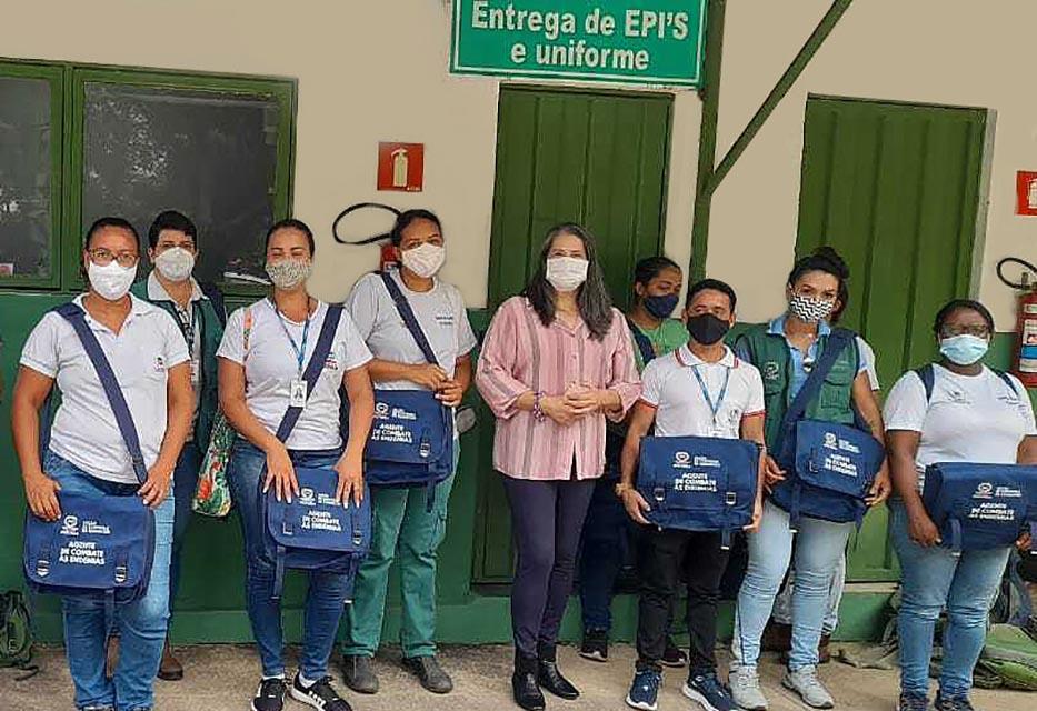 Agentes de Combate a Endemias recebem novo material de trabalho em Ipatinga