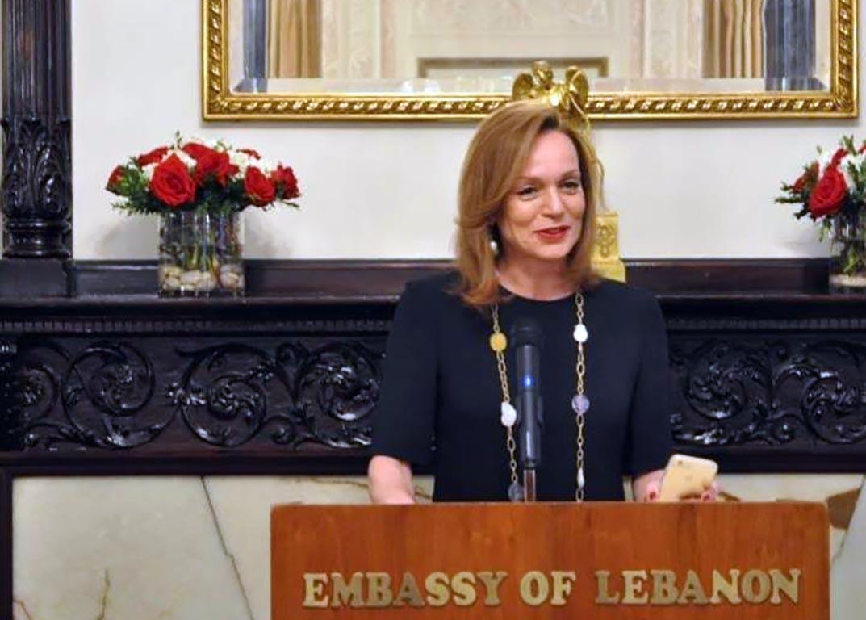 Embaixadora do Líbano defende Tratado de livre comércio entre Líbano e Mercosul