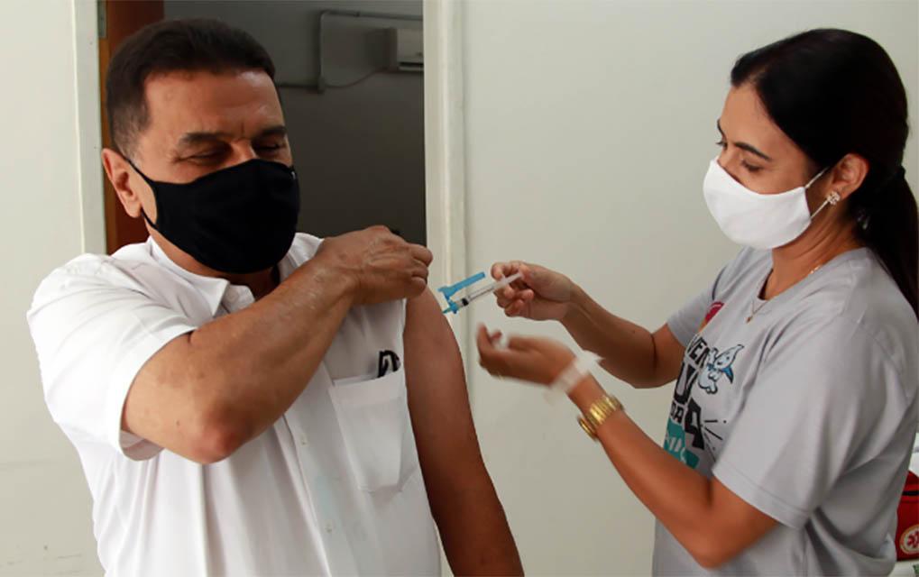 Fabriciano já alcançou 60% dos imunizados com a segunda dose