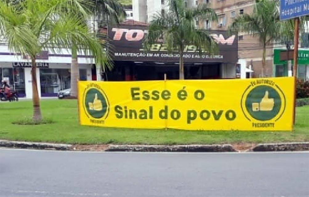 Apoiadores de Bolsonaro realizam carreata neste sábado, em Ipatinga