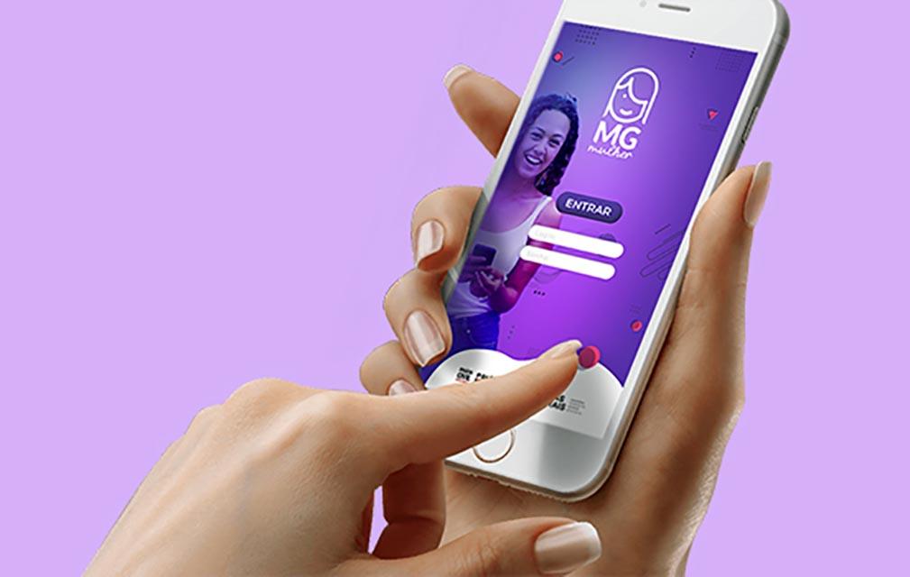 Violência doméstica já pode ser registrada no MG app