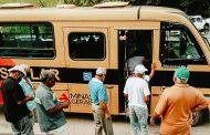 Paraíso oferece transporte para idosos irem até local de vacinação