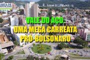 Vale do Aço realiza mega carreta pró-Bolsonaro