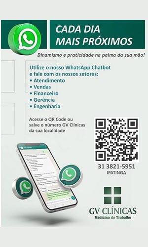 GV Clínicas WhatsApp