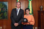 Deputada Alê Silva tem encontro com presidente Jair Bolsonaro