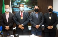 Novo chefe regional da Polícia Civil visita Santana do Paraíso