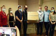 Consurge apresenta balanço financeiro e faz doação de respiradores a prefeituras