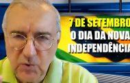 Vale do Aço faz manifestação no Dia da Independência por liberdade e voto auditável