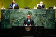 Bolsonaro discursa na Assembleia Geral da ONU e diz que Brasil vive novos tempos