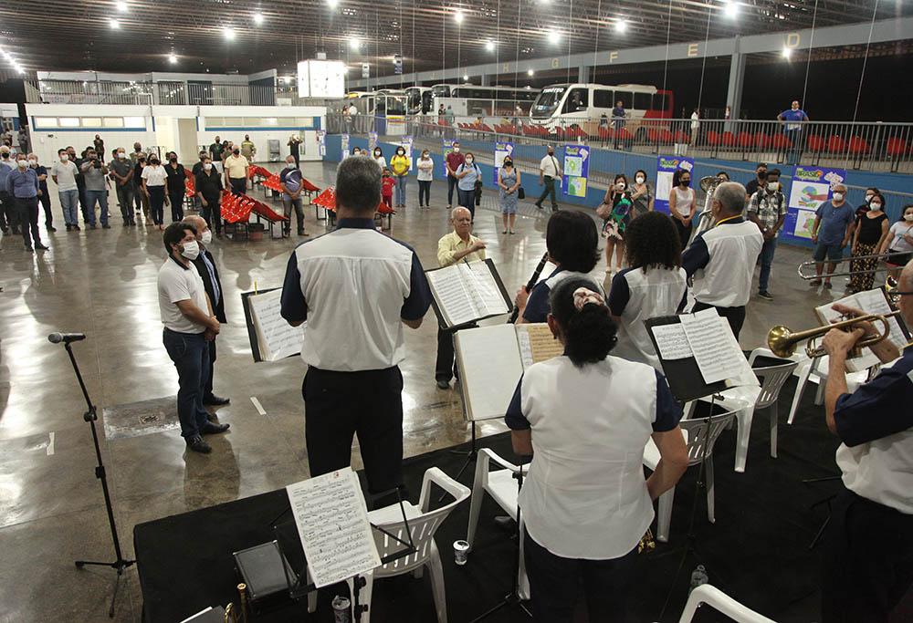 Itinerário Cultural transforma a rotina do Terminal Rodoviário de Timóteo