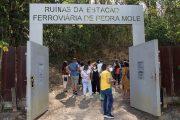 Visita guiada na Estação Pedra Mole de Ipatinga foi aberta no último domingo